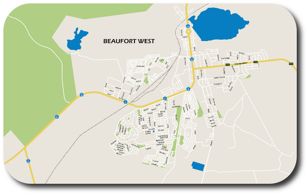 Beaufort West map