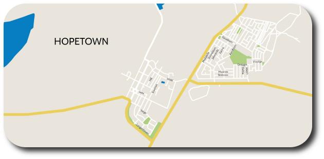 Hopetown map